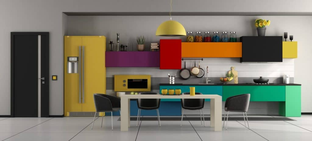 Bútorok új színben