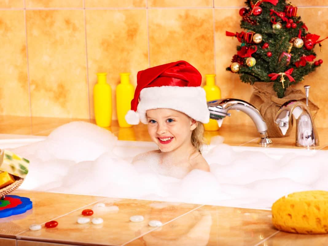 Karácsonyi fürdőszoba