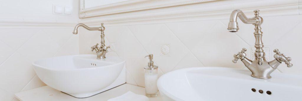 Vintage stílusú fürdőszoba csaptelepek